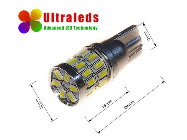 Żarówka W5W T10 30 x 3014 LED SMD  super jasna